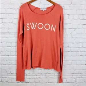 Wildfox SWOON sweater size M
